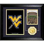 The Highland Mint West Virginia Mountaineers Framed Memories Photo Mint