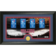 The Highland Mint New York Rangers Tradition Panoramic Photo Mint