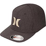 Hurley Men's Black Suits 2.0 Flexfit Hat