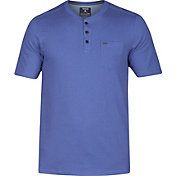 Hurley Men's Dri-FIT Lagos Henley 3.0 T-Shirt