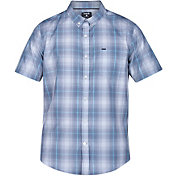 Hurley Men's Dri-FIT Steinbeck Button Down Short Sleeve Shirt