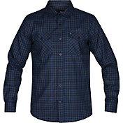 Hurley Men's Dri-FIT Cascade Flannel Long Sleeve Shirt