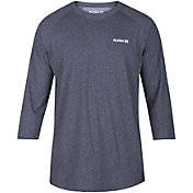 Hurley Men's Dri-FIT One & Only 3/4 Sleeve Raglan Shirt