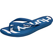 Hurley Men's One and Only Printed Flip Flops