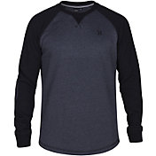 Hurley Men's Roam Fleece Crew Long Sleeve Shirt