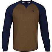 Hurley Men's Roam Fleece Crew Long Sleeve Shirt