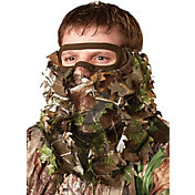 Hunters Specialties Flex Form 3/4 Camo Leafy Head Net