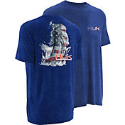 Huk Men's KScott American Bass T-Shirt