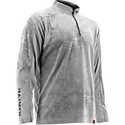 Huk Men's Trophy Kryptek Quarter-Zip Long Sleeve Shirt