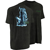 Huk Men's KScott Jumping Bass T-Shirt
