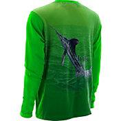 Huk Men's KScott Money Fish Performance Long Sleeve Shirt