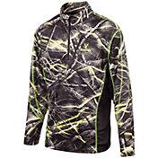 Huntworth Men's Lightweight Quarter Zip Long Sleeve Hunting Shirt