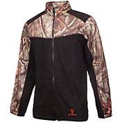 Huntworth Men's 2-Tone Full Zip Fleece Jacket