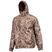Huntworth Men's Marshland Micro Fiber Rain Jacket