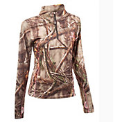 Huntworth Women's Camouflage Quarter-Zip Shirt