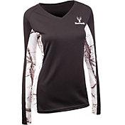 Huntworth Women's Lightweight Lifestyle Long Sleeve Shirt