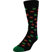 Yaktrax Men's Holiday Ornament Cabin Socks