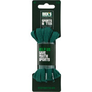 "The DICK'S Sporting Goods Foundation: Sports Matter Green Flat 45"" Laces"