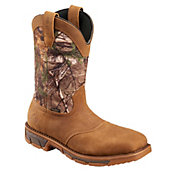 Irish Setter Men's Marshall 11'' Camo Waterproof Steel Toe Work Boots