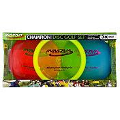 Innova Disc Golf Champion 3-Disc Set