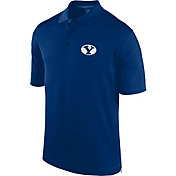 J. America Men's BYU Cougars Blue Spector Polo