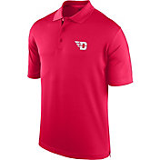 J. America Men's Dayton Flyers Red Spector Polo