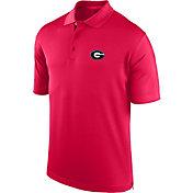 J. America Men's Georgia Bulldogs Red Spector Polo