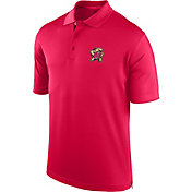 J. America Men's Maryland Terrapins Red Spector Polo