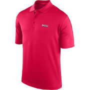 J. America Men's Northern Illinois Huskies Cardinal Spector Polo