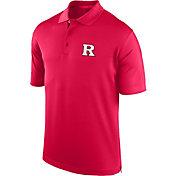 J. America Men's Rutgers Scarlet Knights Scarlet Spector Polo