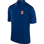 J. America Men's Syracuse Orange Blue Spector Polo