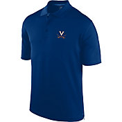 J. America Men's Virginia Cavaliers Blue Spector Polo