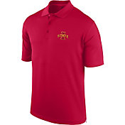 J. America Men's Iowa State Cyclones Cardinal Spector Polo