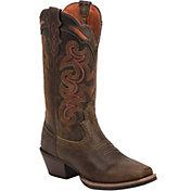 Justin Women's Light Coffee Waxy Western Boots
