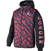 Jordan Boys' Camo Ele Puffy 2-Fer Vest