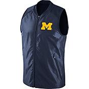 Jordan Men's Michigan Wolverines Blue Hyperelite 2.0 Basketball Game Vest