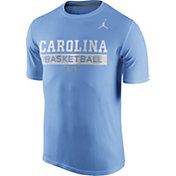 Jordan Men's North Carolina Tar Heels Carolina Blue ELITE Basketball Practice T-Shirt