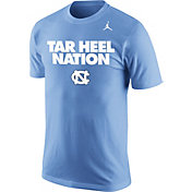 Jordan Men's North Carolina Tar Heels Carolina Blue 'Tar Heel Nation' Basketball T-Shirt