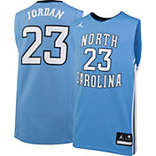 Jordan Youth Michael Jordan North Carolina Tar Heels #23 Carolina Blue Replica Basketball Jersey