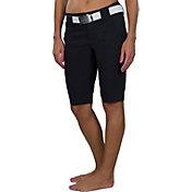 Jofit Women's Belted Bermuda Golf Shorts