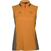 Jamie Sadock Women's Double Pocket Sleeveless Golf Polo