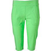 Jamie Sadock Women's Skinnylicious Knee Golf Capris