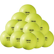 "Jugs 12"" Lite-Flite Practice Softballs - 12 Pack"