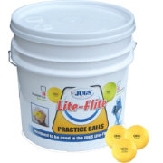 Jugs Lite-Flite Bucket of Baseballs