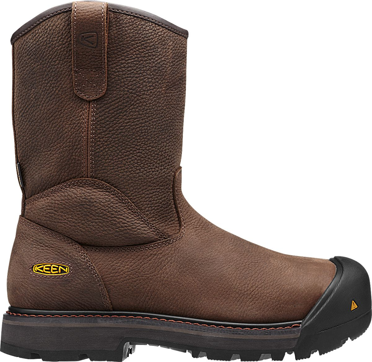 KEEN Men's Milwaukee Wellington Steel Toe Work EH Waterproof Work ...