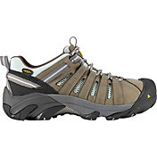 KEEN Women's Flint Low Steel Toe Work Shoes