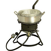 "King Kooker 12"" Fish Fryer with 7 Quart Aluminum Fry Pan"