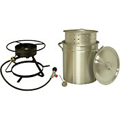 "King Kooker 12"" Bolt Together Outdoor Cooker Package"