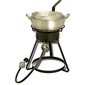 "King Kooker 16"" Outdoor Cooker with 7 Quart Aluminum Deep Fryer"