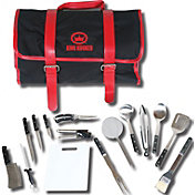 King Kooker 16 Piece Utensil Set with Black/Red Carrying Case